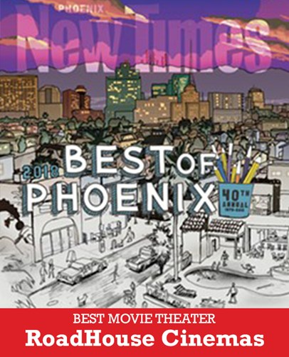 Image of RoadHouse's Best Movie Theater award from Phoenix New Times