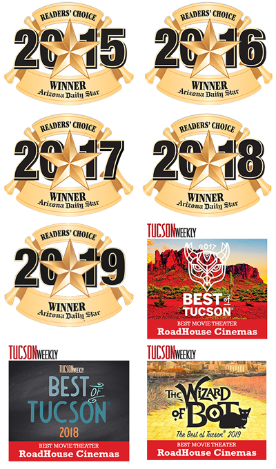 RoadHouse Tucson grid of awards images